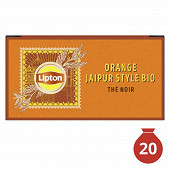 Lipton thé bio orange jaipure X20 34gr