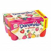 Danonino aux fruits panaché 24x50g offre familiale