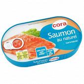 Cora saumon au naturel 125g