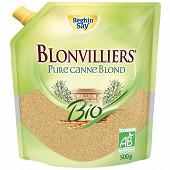 Blonvilliers blond de canne bio doypack 500g