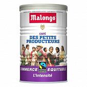 Malongo petits producteurs l'intensité 250g