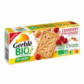 Gerblé bio sablé amande cranberry bio 132g