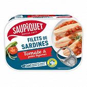 Saupiquet Filets sardines sauce tomate et légumes 100g