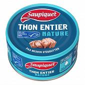 Saupiquet thon entier nature MSC 140g