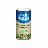 La baleine boite verseuse  sel de mer fin + poudre de riz bio 250g