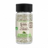 Saunier de camargue saupoudreur fleur de sel au romarin 75g