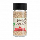 Saunier de camargue saupoudreur fleur de sel piment espelette bio 75g