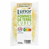 Lunor pommes de terre en cubes 500g