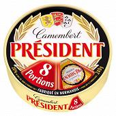 Président camembert 8 portions 240 g