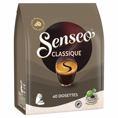 Senseo cafe dosettes classique x40 277g