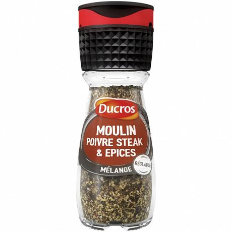 Ducros moulin saveur pour steak 35g
