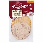 Pierre schmidt Saucisse de lyon fin 8 tranches 150 g