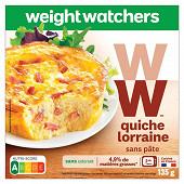 WW Quiche Lorraine au fromage frais sans pâte 135g