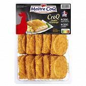 Maître Coq croq poulet fromage barquette 1 kg