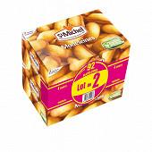 St michel madeleines aux oeufs lot de 2 boîtes de 700g