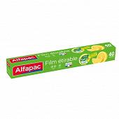 Alfapac film etirable vegetal origin 40m
