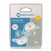 Sucette dental safe - silicone 0/6m x2 Bébé Confort