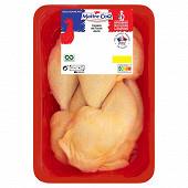 Cuisses de poulet jaune sélectionnées par Maître Coq 1.4kg
