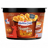 Maître Coq nuggets en box filet de poulet crispy 585g