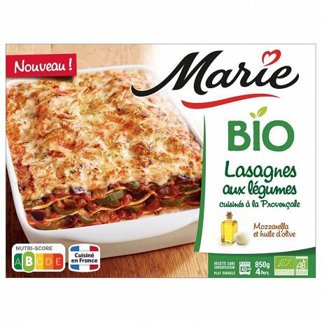Marie lasagnes aux légumes à la provençale bio 850g