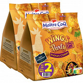 Maître Coq wings party indian curry lot 2x400g