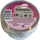 Cora ramequin x10 aluminium