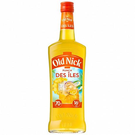 Old Nick punch des iles cocktail à base de rhum 70cl 16%vol
