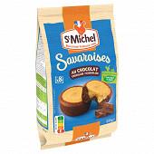 St michel savaroises chocolat x8 220g