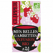 Clipper infusion mes belles gambettes 40g