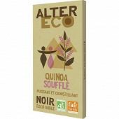 Alter Eco chocolat noir quinoa bio 100g