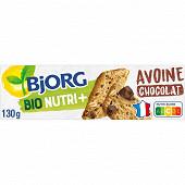 Bjorg biscuit avoine pépites chocolat 130g