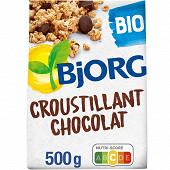 Bjorg croustillants chocolat bio 500g