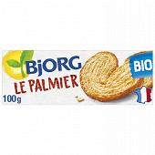 Bjorg biscuits palmier bio 100g