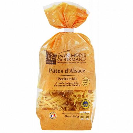 Patrimoine gourmand pâtes d'Alsace petits nids 250g
