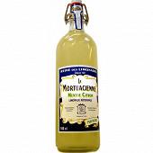La Mortuacienne limonade artisanale menthe citron 100 cl