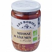 Les bories mitonné de légumes du Marché (tomate, courgette, aubergines) 585g