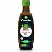 Cauvin huile vierge de sésame grillé 25cl Bio