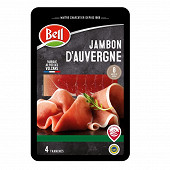 Bell jambon d'Auvergne 4 tranches 80g