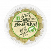 Père Olive olives bio ail & fines herbes 150g