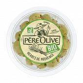 Père Olive olives bio aux herbes de Provence 150g