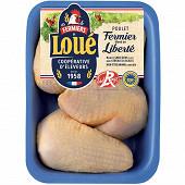 Loué cuisses de poulet jaune 900g