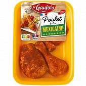 Le Gaulois cuisses de poulet découpées à la mexicaine x4 550g