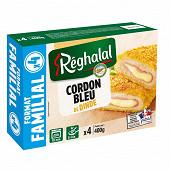 Reghalal 4 cordons bleu de dinde halal 400g