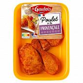 Le Gaulois cuisses de poulet découpées provencale x4 550g