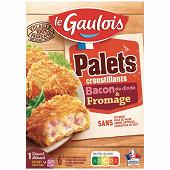 Le Gaulois palets croustillants bacon & fromage 200g