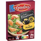 Le Gaulois bouchées de poulet confit 250g
