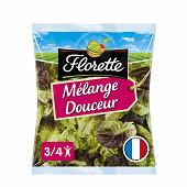 Florette salade mélange douceur sachet 200g