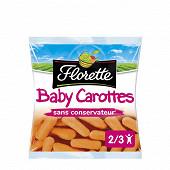 Florette baby carottes 250g
