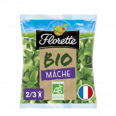 Florette salade mâche bio sachet 100g