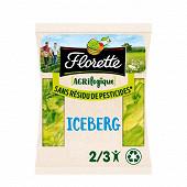 Florette salade iceberg agrilogique sachet 350g